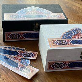Taj- Laminated stickers